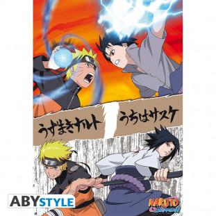 Naruto vs Sasuke Poster (GROOT)