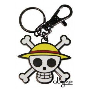 One Piece Skull Luffy Sleutelhanger