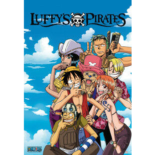 One Piece Poster - Luffys pirates (Groot)