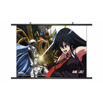 Akame VS Esdeath Wallscroll