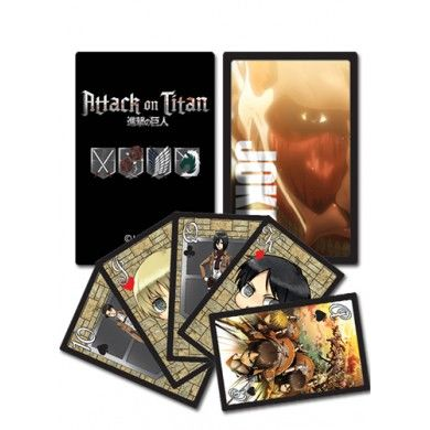 Attack on Titan Speelkaarten 1
