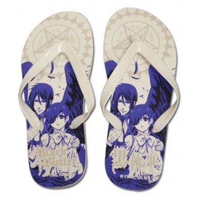 Ciel & Sebastian Uni-Sex Flip Flop Slippers 26cm