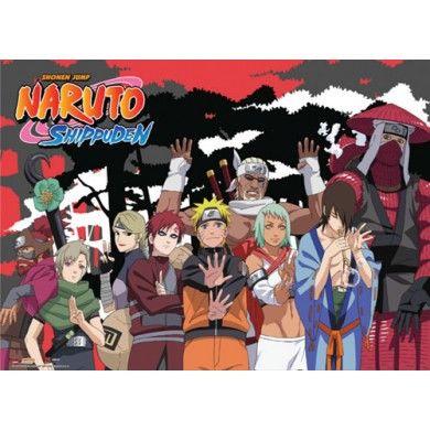 Naruto Shippuden Jinchuuriki Wallscroll