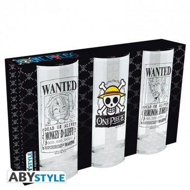 One Piece glazen set