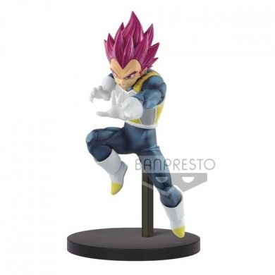 Dragon Ball Super Broly - Vegeta SSJ God PVC Figuur