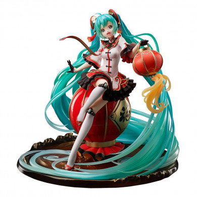 Vocaloid PVC Statue 1/7 Hatsune Miku 2021 Chinese New Year Ver. 25 cm