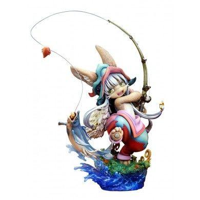 Made in Abyss PVC Statue 1/8 Nanachi Gankimasu Fishing 23 cm